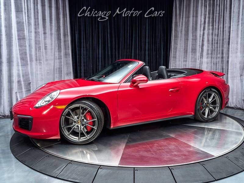 2017_Porsche_911_Carrera 4S Convertible MSRP $151,715+_ Chicago IL
