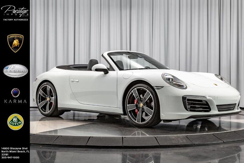 2017_Porsche_911_Carrera 4S_ North Miami Beach FL