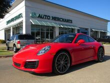 2017_Porsche_911_Carrera Coupe,Premium Package Plus w/Power Sport Seats, Sunroof, MSRP $114k_ Plano TX