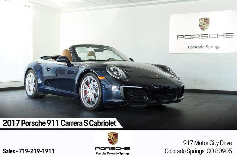 2017 Porsche 911 Carrera S Cabriolet Colorado Springs CO