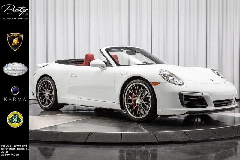 2017_Porsche_911 S Cabriolet_Carrera S_ North Miami Beach FL
