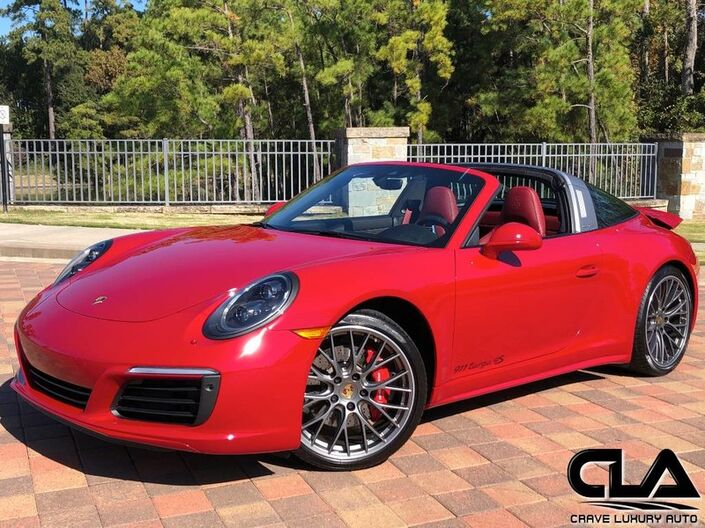 2017 Porsche 911 Targa 4S The Woodlands TX