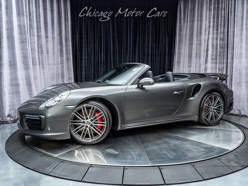 2017_Porsche_911_Turbo Convertible *MSRP $177,060+*_ Chicago IL
