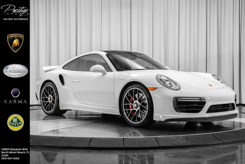 2017 Porsche 911 Turbo North Miami Beach FL