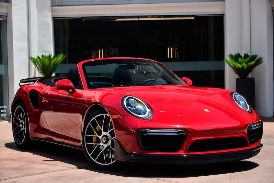 2017_Porsche_911 Turbo S__ Beverly Hills CA
