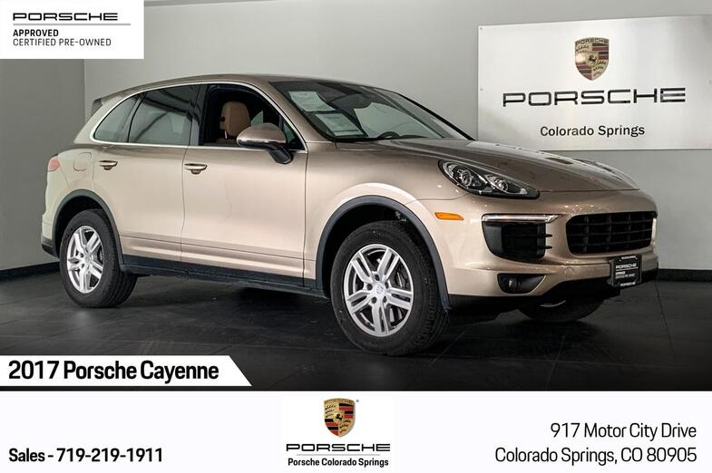 2017 Porsche Cayenne  Colorado Springs CO
