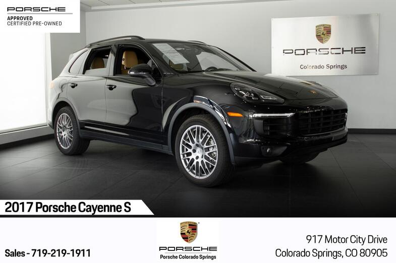 2017 Porsche Cayenne Cayenne S Colorado Springs CO