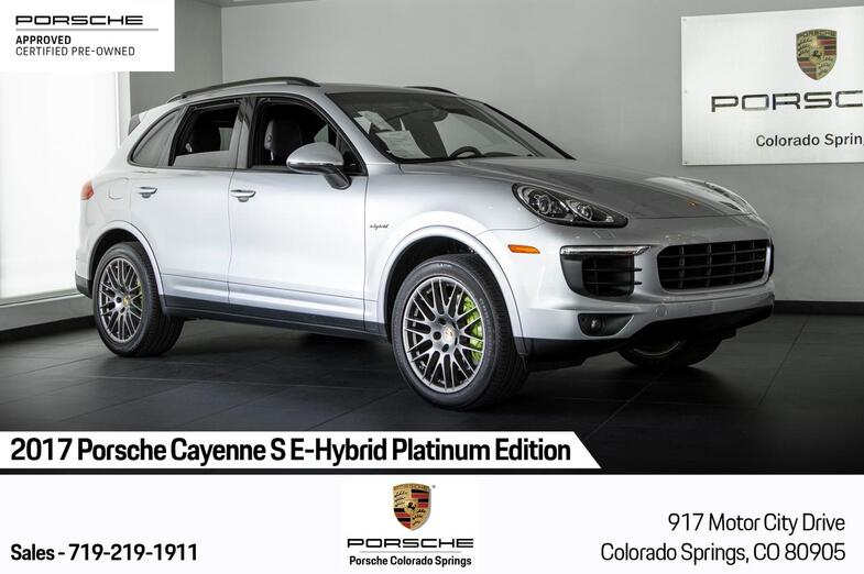 2017 Porsche Cayenne Cayenne S E-Hybrid Platinum Edition Colorado Springs CO