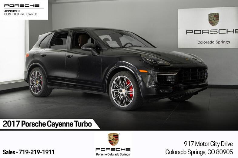 2017 Porsche Cayenne Cayenne Turbo Colorado Springs CO
