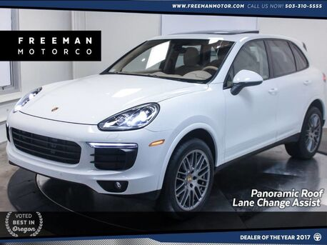 2017_Porsche_Cayenne_Platinum Edition AWD Back-Up Cam Pano Roof Nav_ Portland OR