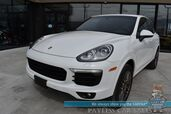 2017 Porsche Cayenne Platinum Edition / AWD / Premium Pkg / Heated & Cooled Leather Seats / Navigation / Bose Speakers / Panoramic Sunroof / Bluetooth / Back Up Camera / Cruise Control / 23 MPG