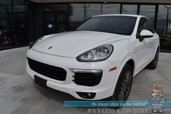 2017_Porsche_Cayenne_Platinum Edition / AWD / Premium Pkg / Heated & Cooled Leather Seats / Navigation / Bose Speakers / Panoramic Sunroof / Bluetooth / Back Up Camera / Cruise Control / 23 MPG_ Anchorage AK
