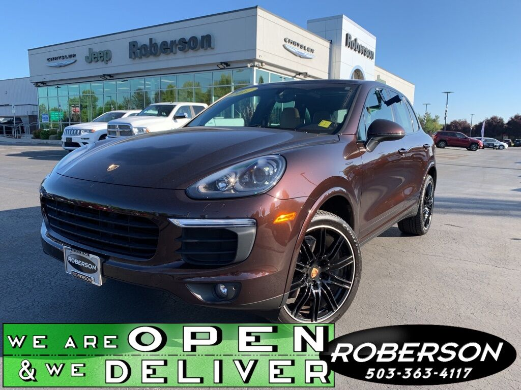 2017 Porsche Cayenne Platinum Edition Salem OR