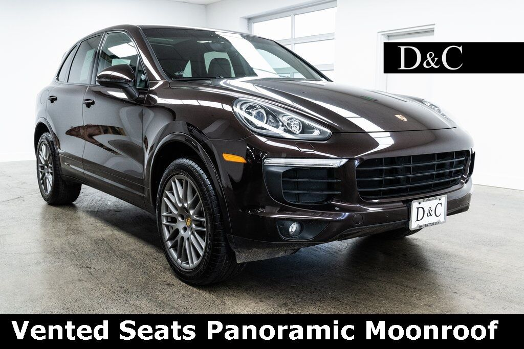 2017 Porsche Cayenne Platinum Edition Vented Seats Panoramic Moonroof Portland OR