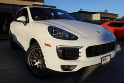 2017_Porsche_Cayenne_Platinum Edition,PANORAMIC,COOLED HEATED SEATS!_ Houston TX