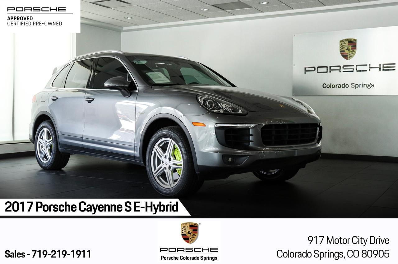 2017 Porsche Cayenne S E-Hybrid Colorado Springs CO