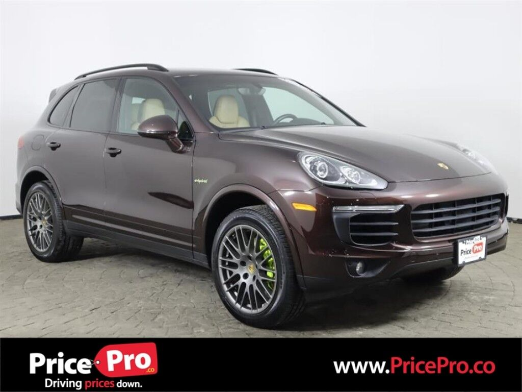 2017 Porsche Cayenne S E-Hybrid Platinum Edition w/Nav/Pano Roof Maumee OH