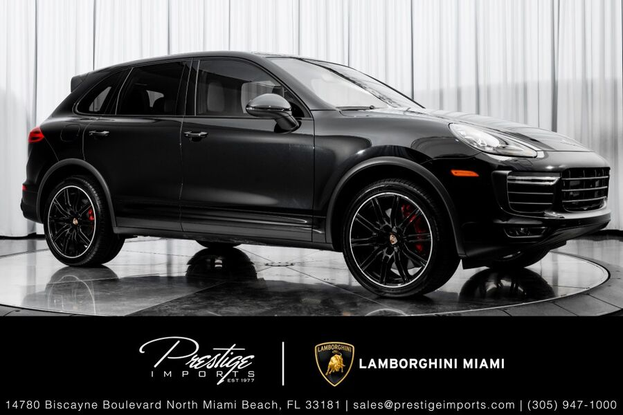 2017_Porsche_Cayenne_Turbo_ North Miami FL
