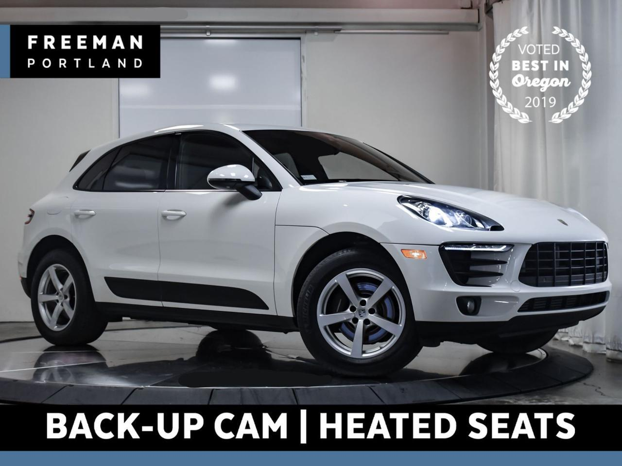 2017 Porsche Macan AWD Heated Seats Back-Up Cam Nav Blind Spot Asst