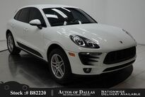 Porsche Macan CAM,PARK ASST,KEY-GO,18IN WHLS,HID LIGHTS 2017