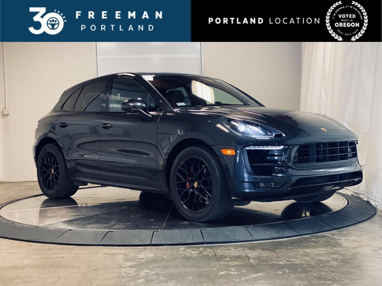 2017 Porsche Macan GTS Heated & Cooled Seats Carbon Fiber Interior Pkg Premium Pkg + Portland OR