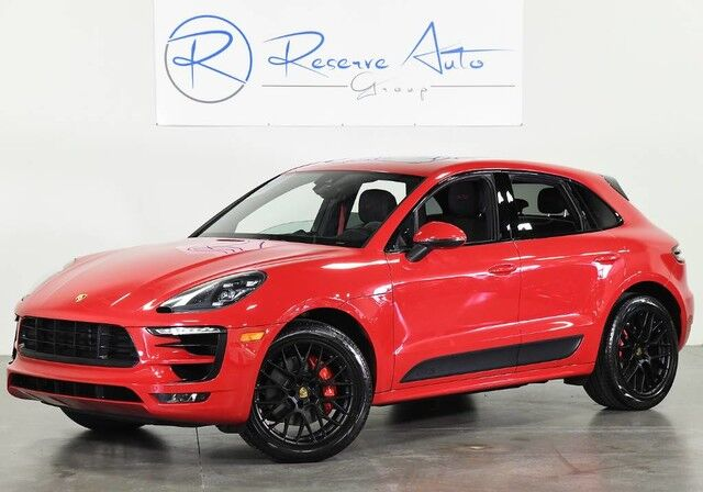 2017 Porsche Macan GTS Premium Pkg Plus BOSE PDLS Pano Roof The Colony TX