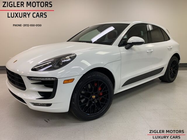 2017 Porsche Macan GTS Sport Chrono Prem Plus One Owner Clean Carfax Addison TX