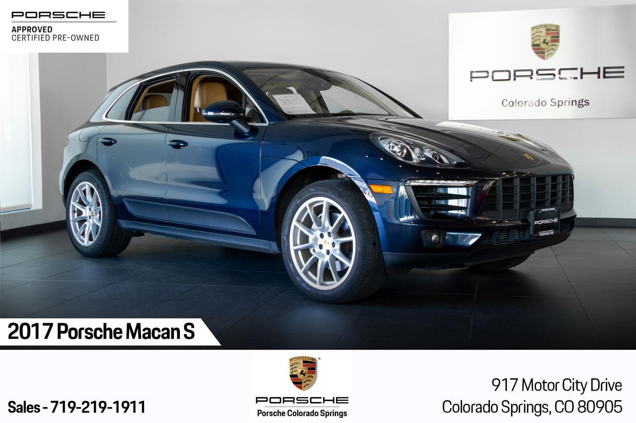 2017 Porsche Macan Macan S Colorado Springs CO