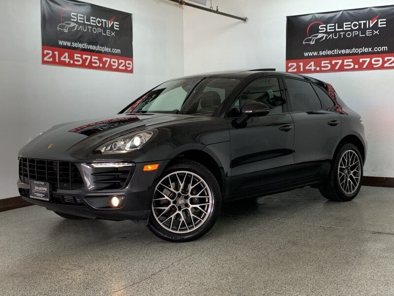 2017 Porsche Macan PREMIUM PKG PLUS, NAV, LEATHER SEATS, PANO ROOF, LANE DEPART WARNING Carrollton TX
