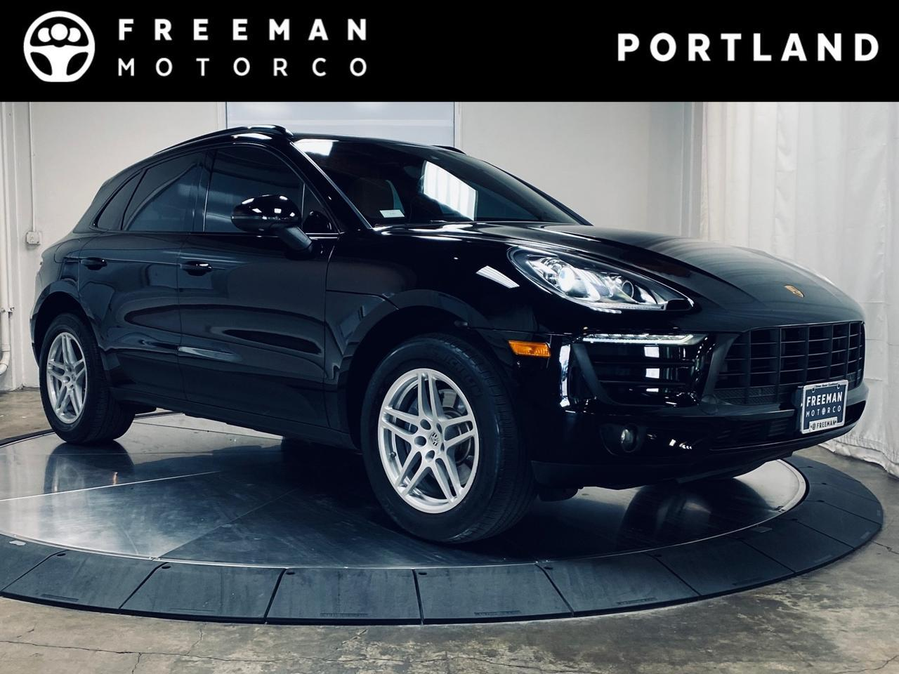 2017 Porsche Macan Pano Roof Heated Seats Navigation Lane Change Assist Portland OR