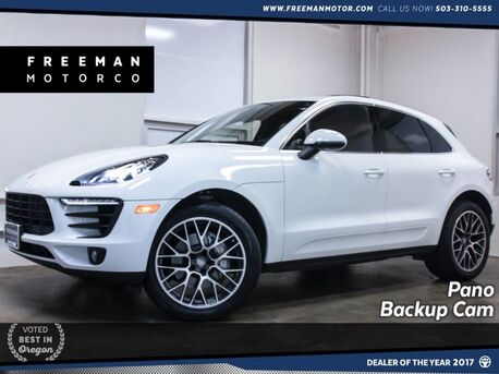 2017_Porsche_Macan_S Pano Heated/Ventilated Seats Backup Cam_ Portland OR