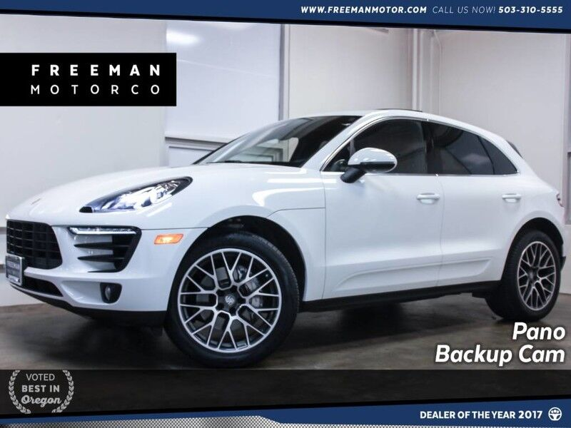 2017 Porsche Macan S Pano Heated/Ventilated Seats Backup Cam Portland OR