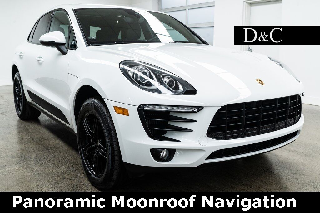 2017 Porsche Macan S Panoramic Moonroof Navigation Portland OR
