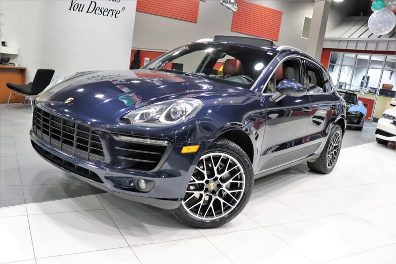 2017 Porsche Macan S Premium Package Plus Navigation Sports Chrono 19 inch Wheels 1 Owner Springfield NJ