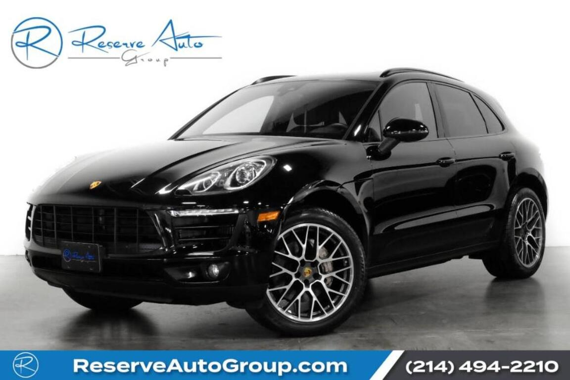 Vehicle Details 2017 Porsche Macan At Reserve Auto Group The Colony Reserve Auto Group