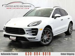 2017_Porsche_Macan Turbo_3.6L Twin Turbo V6 Engine AWD w/ Panoramic Sunroof, Navigation,_ Addison IL