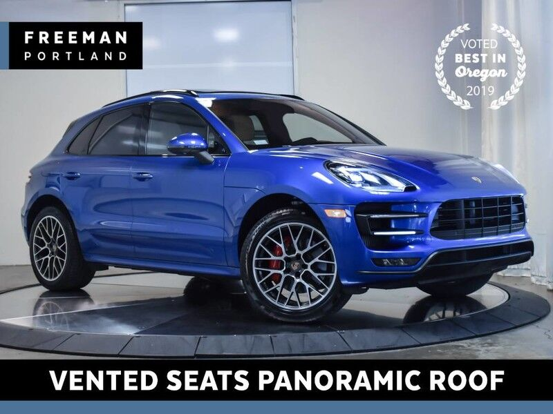 2017 Porsche Macan Turbo AWD Nav Pano Roof Vented Seats Back-Up Cam Portland OR