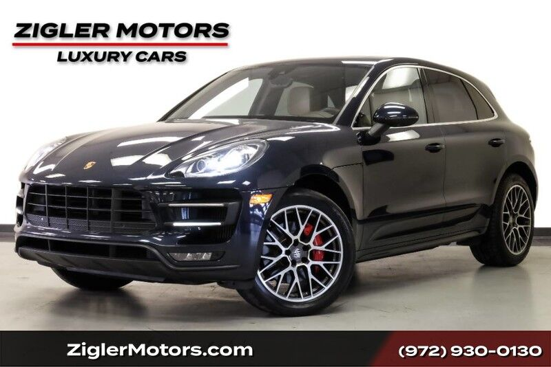 2017 Porsche Macan Turbo Premium Plus Package 20 RS Wheels One Owner Clean Carfax Addison TX