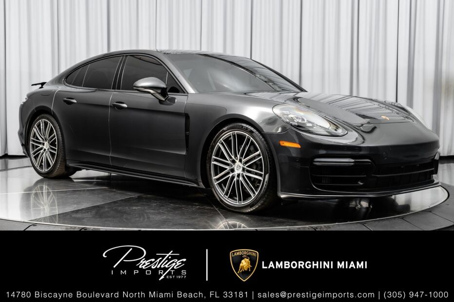 2017_Porsche_Panamera_4S_ North Miami Beach FL
