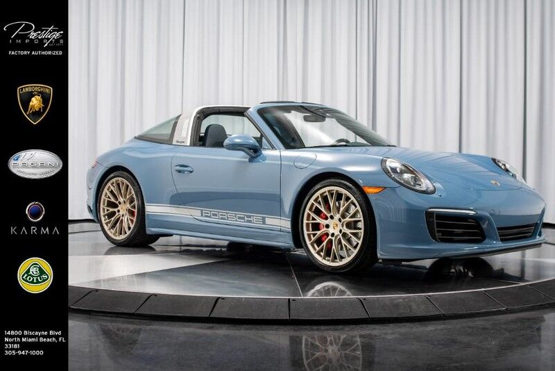 2017_Porsche_Targa 911 Exclusive Design_4S_ North Miami Beach FL