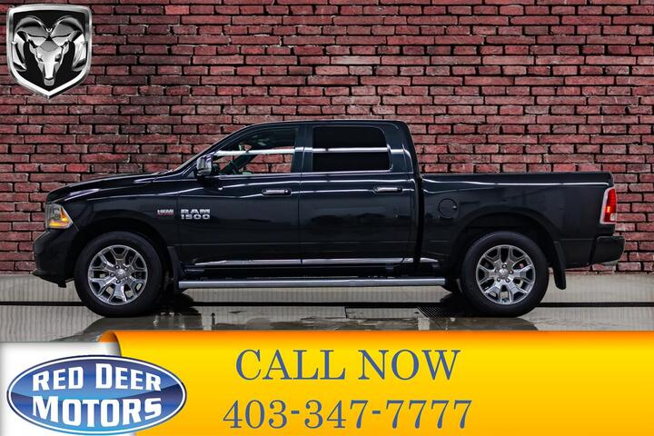 2017 Ram 1500 4x4 Crew Cab Limited Leather Roof Nav Red Deer AB
