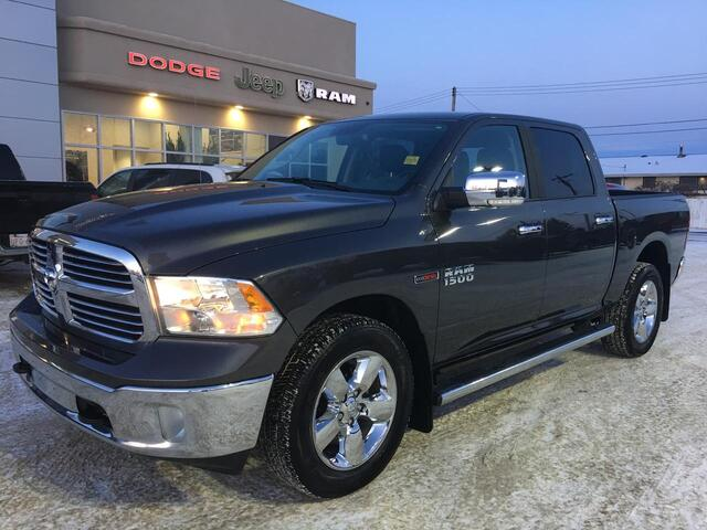 2017 Ram 1500 Big Horn Eco-Diesel - Leather - 1 Owner - 10,000 KMS Redwater AB