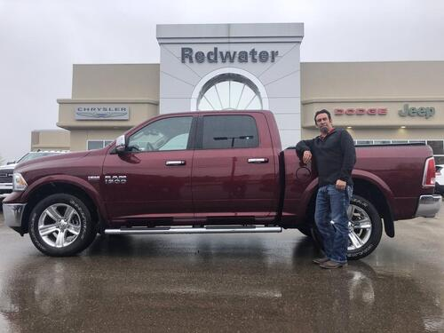 2017_Ram_1500_Laramie - Heated Seats - Remote Start_ Redwater AB