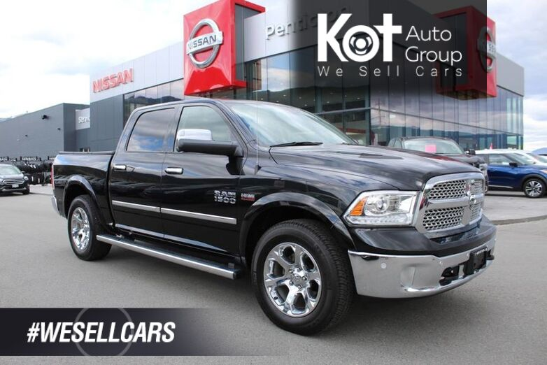 2017 Ram 1500 Laramie, No Accidents, Heated Front Seats, Navigation Penticton BC
