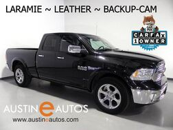 2017_Ram_1500 Laramie Quad Cab_*BACKUP-CAMERA, TOUCH SCREEN, LEATHER, CLIMATE SEATS, HEATED STEERING WHEEL, ALPINE AUDIO, BLUETOOTH_ Round Rock TX
