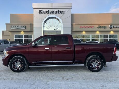 2017 Ram 1500 Limited - 5.7L Hemi Engine - Heated/Cooled Seats - Sunroof - Remote Start Redwater AB