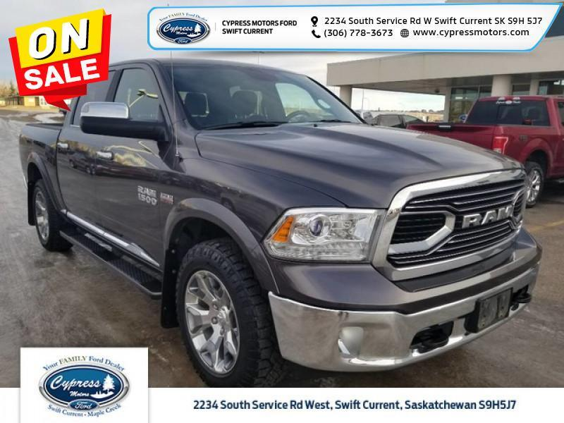 2017 Ram 1500 Limited  - Trade-in - Navigation - $281 B/W Swift Current SK