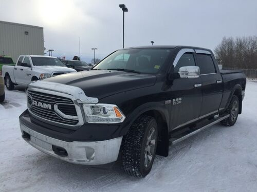 2017_Ram_1500_Limited 4x4 Crew Cab - Sunroof - NAV - Just Arrived!_ Redwater AB