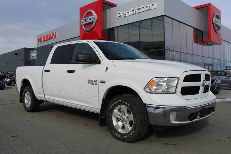 2017 Ram 1500 Outdoorsman, Auto, w/ Satellite Radio, Very Low Km's, Box Liner, and No Accidents Kelowna BC