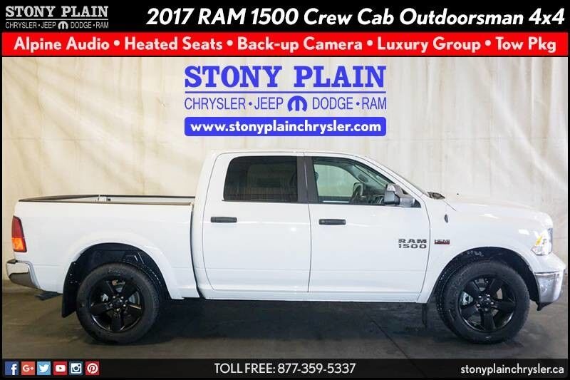 2017 Ram 1500 Outdoorsman Stony Plain AB